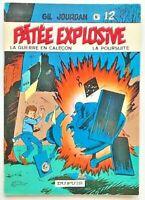 BD Gil JOURDAN T. 12 PATÉE EXPLOSIVE / EO 1971 / Tillieux - Univers Spirou Félix