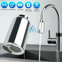 Smart Touchless Automatic Motion Sensor Kitchen Sink Faucet Adapter USB Charge
