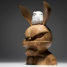 COARSE GLITCH WHITE OAK LIMITED EDITION OF 50 SEALED NEVER OPENED KAWS BEARBRICK