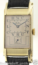 ROLEX PRINCE DOCTORS WATCH - EATON  1/4CENTURY CLUB -14ct GOLD - REF.3937 - 1947