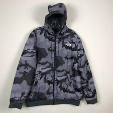 The North Face Jacket Men's XL Camo Reversible Fleece Puffer Jacket