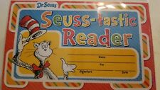 Dr Seuss Seuss-Tastic Reader Recognition Awards 18 ct  New 2018