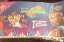 "NEW Sealed 90s Looney Tunes Plush 8"" SPACE JAM BASKETBALL TAZ TAZMANIAN DEVIL"