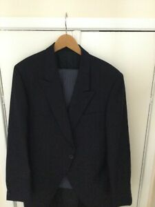 Blue Morning Suit/Wedding Tails with waistcoat and cravat