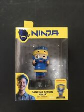 "Ninja Dancing Action Ninja #01 Blue 4"" Vinyl Bobblehead Figure Wicked Cool Toys"