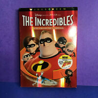 The Incredibles (DVD, 2-Disc Set, Widescreen, Collectors Edition) Includes Short