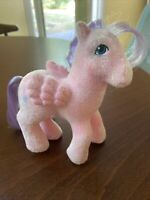 MLP Vintage G1 My Little Pony SO SOFT NORTHSTAR NORTH STAR Pegasus Magical Pink