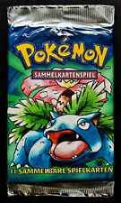 1st Edition Basis 1 Glurak Booster Pokemon 1999 German