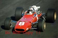 Chris Amon Ferrari 312/67 British Grand Prix 1967 Photograph