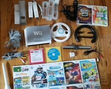 Nintendo Wii Console, Accessories and 28 Games!!