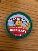 Legoland Windsor Ride Race Challenge Rare Pop Badge, Limited Edition