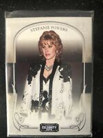 STEFANIE POWERS CELEBRITY CUTS COLLECTABLE CARD