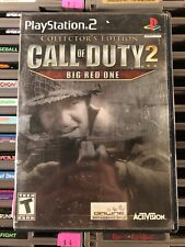 Sony Playstation 2 Video Game PS2 Call Of Duty 2 The Big Red One Complete In Bix