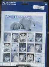 Original Sealed Stamp Sheet Artic Animals Scott 12.75 .33 Below Value