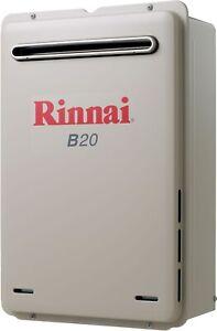 Rinnai Builders 60°C 20L LPG Gas Instantaneous Hot Water System B20L60A B20