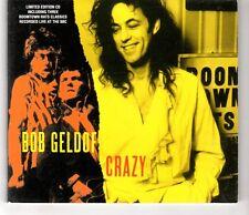 (HI654) Bob Geldof, Crazy - 1994 Ltd Ed CD