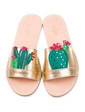 NWOB KATE SPADE NY Iguana Cactus Slides Sandals Sz 6M