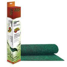 """Zilla Green Terrarium Aquarium Liner Cage Carpet Mat 40 50 gallon size 18 x 36 """""""