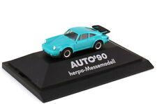 1:87 Porsche 911 Turbo Type 930 Turquoise - Exhibition Model - Car 90 - herpa