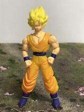"Bandai DBZ Dragon Ball Z Hybrid Action Super Saiyan Goku 4"" Action Figure 2389"