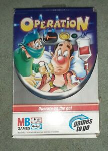 Travel Operation - Games To Go - MB Games, Used