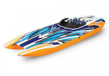 TRAXXAS DCB M41 Orange-X 103cm RTR Brushless Renn Catamaran Boot +80km/h möglich