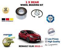 Para Renault Clio 0.9 1.2 1.5 DCI 1.6 2012- > 1 X Rueda Trasera Kit Rodamientos