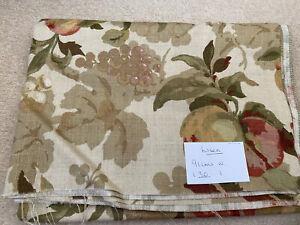 Brunschwig Fils fabric - Linen - Peaches & Grapes