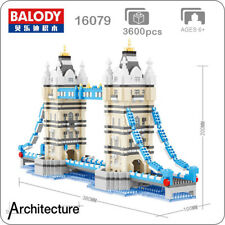 Balody Architecture The Tower Bridge of Londo Mini Diamond Blocks Building  Toy