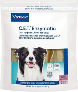 CET Enzymatic Oral Hygiene Chews for MD 26-50 Pounds 30ct