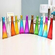 Color Clear Mini Glass Vase Zakkz Flower Bottle Glass Ornaments Flower Arrange
