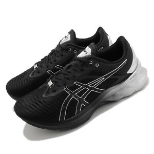 Asics Novablast Platinum Black Silver Men Running Shoes Sneakers 1011B157-001