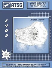 Ford E4OD ATSG Rebuild Manual E40D Transmission Service Overhaul Book Super Duty