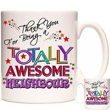 THANK YOU NEIGHBOUR GIFT MUG. Matching items Available Can Be Personalised