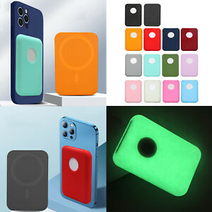 Silicone Case Cover Skin Shell for iPhone 12 Magsafe External Battery Power Bank