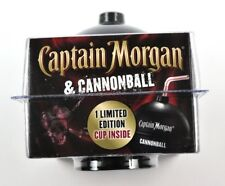 Captain Morgan USA OVP Cannonball Kanonenkugel Style Trinkgefäß Becher