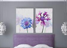 XXL Lienzo bild-set 150x100x5 Lavanda flores Natural Cuadro Ikea premiär NUEVO