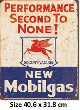 Mobilgas  Mobil Rustic Tin Sign 1725 Licensed Not Chines Fake Made in US