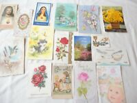 Lot of 16 Vintage Assorted All Occasion Greeting Cards Birthday Get Well Un-used