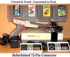NES Console Bundle + Mario Bros 1 2 3 & Teenage Mutant Ninja Turtles -Guaranteed