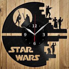Vinyl Clock Star Wars Handmade Original Vinyl Wall Clock Home Art Decor 4100