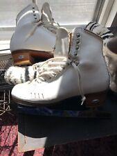 Womens Riedell Figure Skates Size 7 Mk Sheffield Vision BladesProfessional