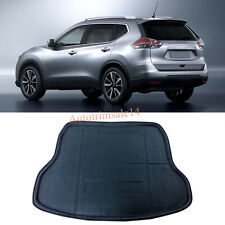Black Interior Rear Trunk Boot Mat Carpet For Nissan X-Trail / Rogue 2014-2016