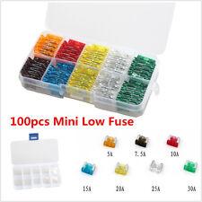 Car Mini Low Profile Fuse Box 5 7.5 10 15 20 25 30 A DIY For Japan/Korea Cars