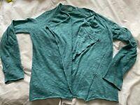 Ladies Zadig & Voltaire Designer silk waterfall jacket size S/M