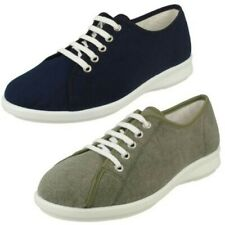 Ladies Easy B Canvas Shoes 'Anthea'