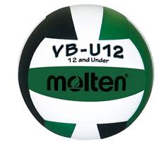 Molten VBU12 Light Volleyball Youth Volleyball Green/Black/White