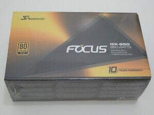 Seasonic FOCUS GX-850 Power Supply Brand New!