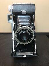 Vintage Kodak Tourist Folding Camera With Original Box And Booklet