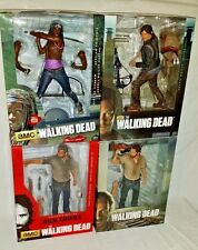 "WALKING DEAD McFarlane LOT 10"" Deluxe Action Figure DARYL DIXON RICK & MICHONNE"